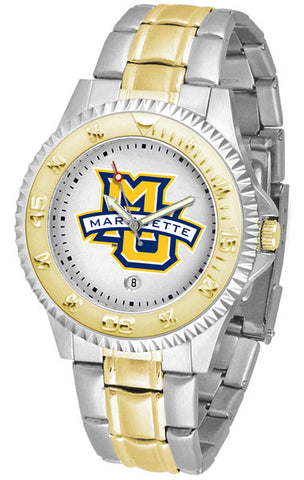 Mens Marquette Golden Eagles - Competitor Two Tone Watch