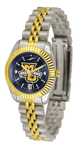Ladies Marquette Golden Eagles - Executive AnoChrome Watch