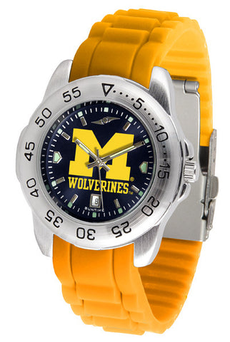 Mens Michigan Wolverines - Sport AC AnoChrome Watch