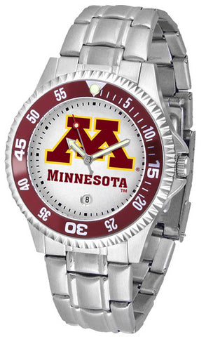 Mens Minnesota Gophers - Competitor Steel Watch