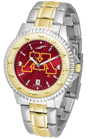 Mens Minnesota Gophers - Competitor Two Tone AnoChrome Watch