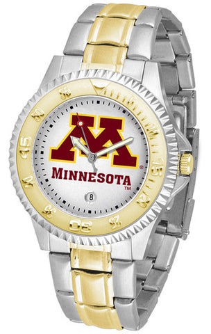Mens Minnesota Gophers - Competitor Two Tone Watch