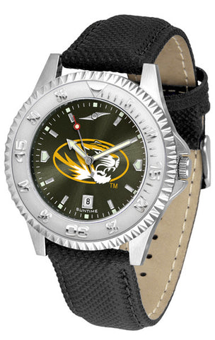 Missouri Tigers Men  Competitor Watch With AnoChome Dial