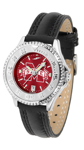 Mississippi State Bulldogs Ladies Competitor Watch With AnoChome Dial