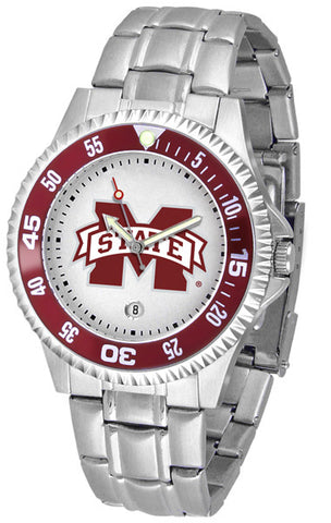 Mississippi State Bulldogs Competitor Steel Men's Watch