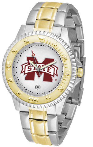Mississippi State Bulldogs Men's Competitor Two-Tone Watch