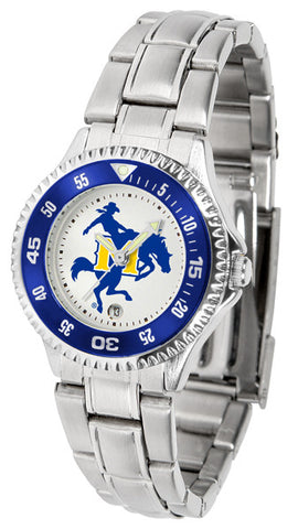 Ladies McNeese State Cowboys - Competitor Steel Watch