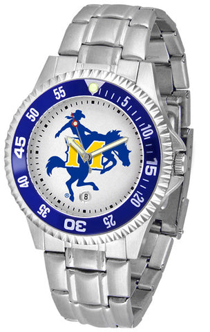 Mens McNeese State Cowboys - Competitor Steel Watch