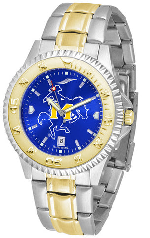 Mens McNeese State Cowboys - Competitor Two Tone AnoChrome Watch