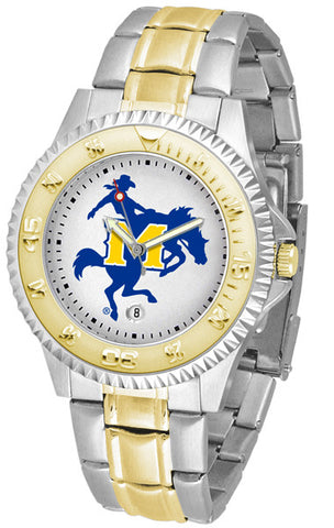 Mens McNeese State Cowboys - Competitor Two Tone Watch