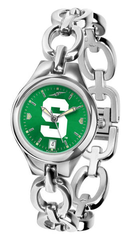 Michigan State Spartans Ladies Eclipse Watch With AnoChrome Dial