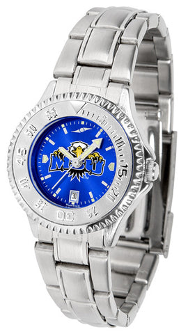 Ladies Morehead State University Eagles - Competitor Steel AnoChrome Watch