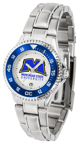 Ladies Morehead State University Eagles - Competitor Steel Watch