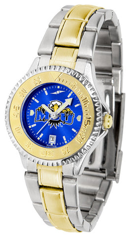 Ladies Morehead State University Eagles - Competitor Two Tone AnoChrome Watch