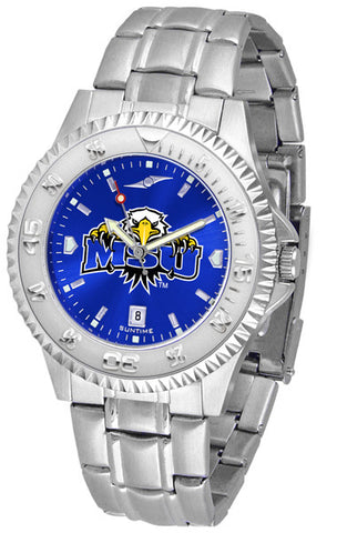 Mens Morehead State University Eagles - Competitor Steel AnoChrome Watch