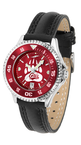 Ladies Montana Grizzlies - Competitor AnoChrome Watch - Color Bezel