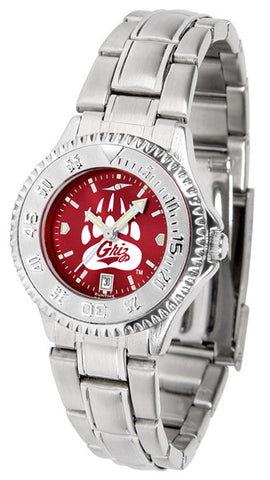Ladies Montana Grizzlies - Competitor Steel AnoChrome Watch