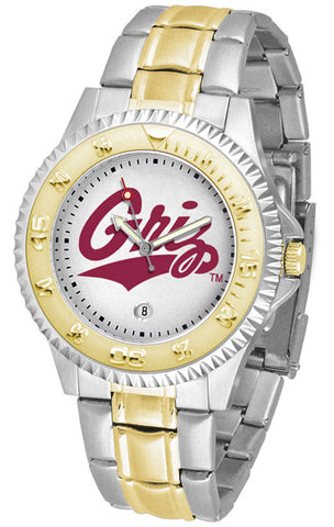 Mens Montana Grizzlies - Competitor Two Tone Watch
