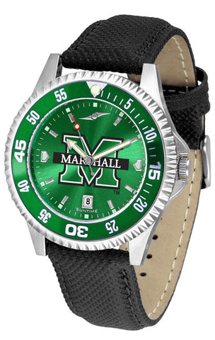Mens Marshall University Thundering Herd - Competitor AnoChrome Watch - Color Bezel