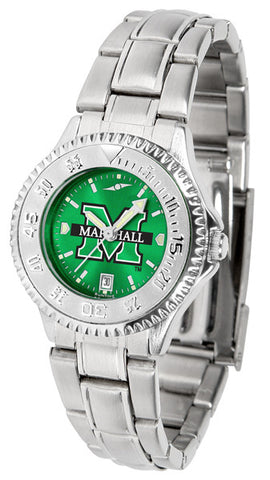 Ladies Marshall University Thundering Herd - Competitor Steel AnoChrome Watch