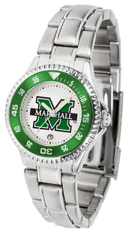 Ladies Marshall University Thundering Herd - Competitor Steel Watch