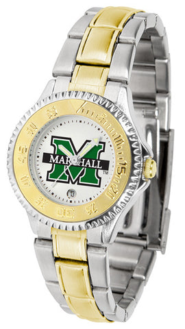 Ladies Marshall University Thundering Herd - Competitor Two Tone Watch