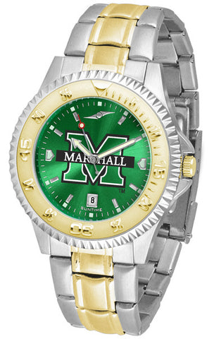Mens Marshall University Thundering Herd - Competitor Two Tone AnoChrome Watch