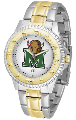 Mens Marshall University Thundering Herd - Competitor Two Tone Watch