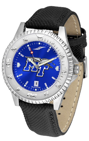 Mens Middle Tenn. State Blue Raiders - Competitor AnoChrome Watch