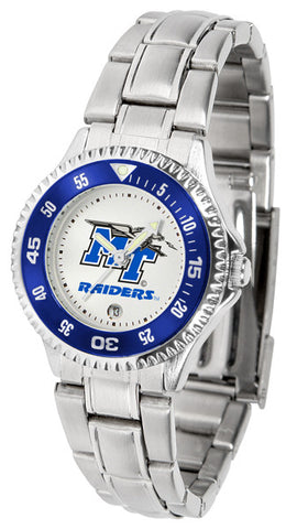 Ladies Middle Tenn. State Blue Raiders - Competitor Steel Watch