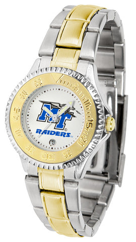Ladies Middle Tenn. State Blue Raiders - Competitor Two Tone Watch