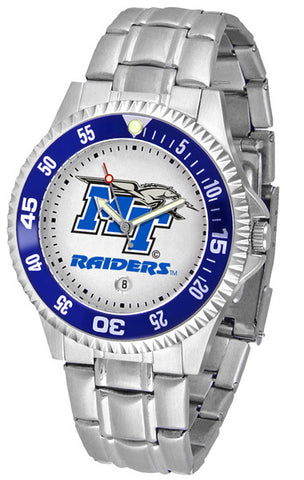 Mens Middle Tenn. State Blue Raiders - Competitor Steel Watch