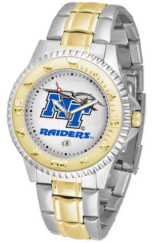 Mens Middle Tenn. State Blue Raiders - Competitor Two Tone Watch