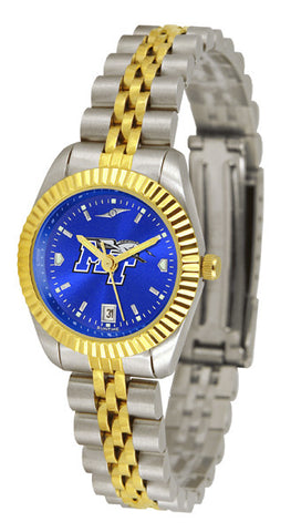 Ladies Middle Tenn. State Blue Raiders - Executive AnoChrome Watch