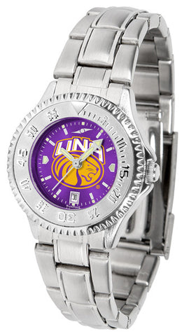 Ladies North Alabama Lions - Competitor Steel AnoChrome Watch