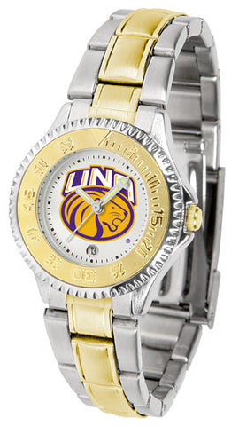 Ladies North Alabama Lions - Competitor Two Tone Watch