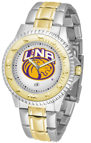 Mens North Alabama Lions - Competitor Two Tone Watch