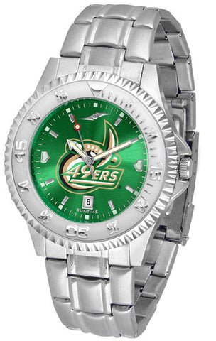 Mens North Carolina Charlotte 49ers - Competitor Steel AnoChrome Watch