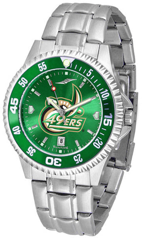Mens North Carolina Charlotte 49ers - Competitor Steel AnoChrome Watch - Color Bezel