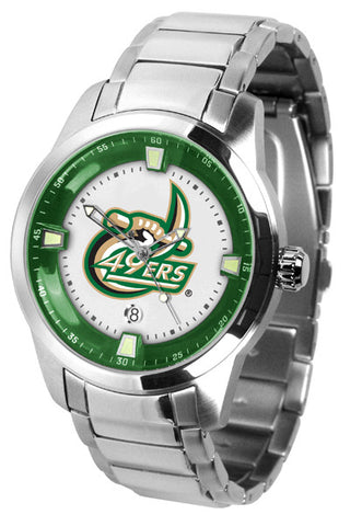 Mens North Carolina Charlotte 49ers - Titan Steel Watch
