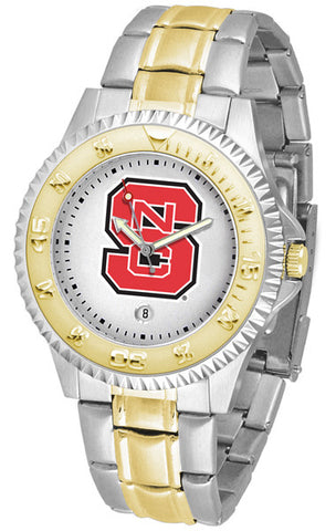 Mens North Carolina State Wolfpack - Competitor Two Tone Watch