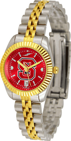 Ladies North Carolina State Wolfpack - Executive AnoChrome Watch