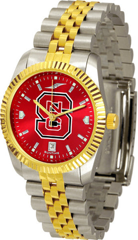 Mens North Carolina State Wolfpack - Executive AnoChrome Watch