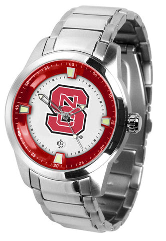 Mens North Carolina State Wolfpack - Titan Steel Watch