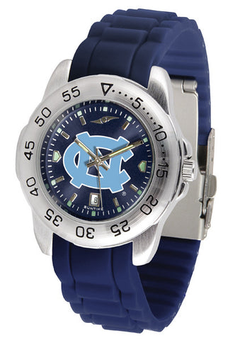 North Carolina Tar Heels Sport AnoChrome Watch With Color Band