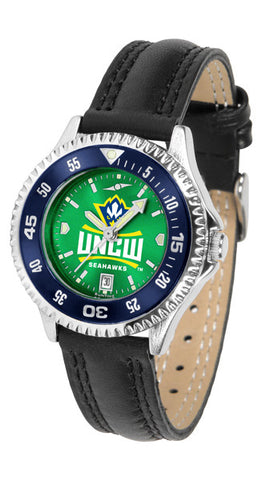 Ladies North Carolina Wilmington Seahawks - Competitor AnoChrome Watch - Color Bezel