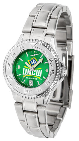 Ladies North Carolina Wilmington Seahawks - Competitor Steel AnoChrome Watch