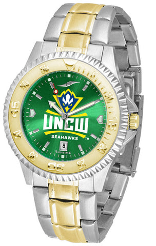 Mens North Carolina Wilmington Seahawks - Competitor Two Tone AnoChrome Watch