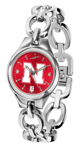 Nebraska Cornhuskers Ladies Eclipse Watch With AnoChrome Dial