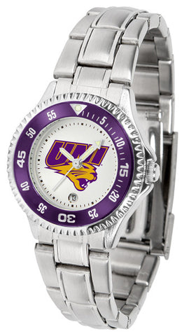 Ladies Northern Iowa Panthers - Competitor Steel Watch
